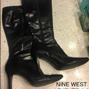 Nine West Leather boots 7.5